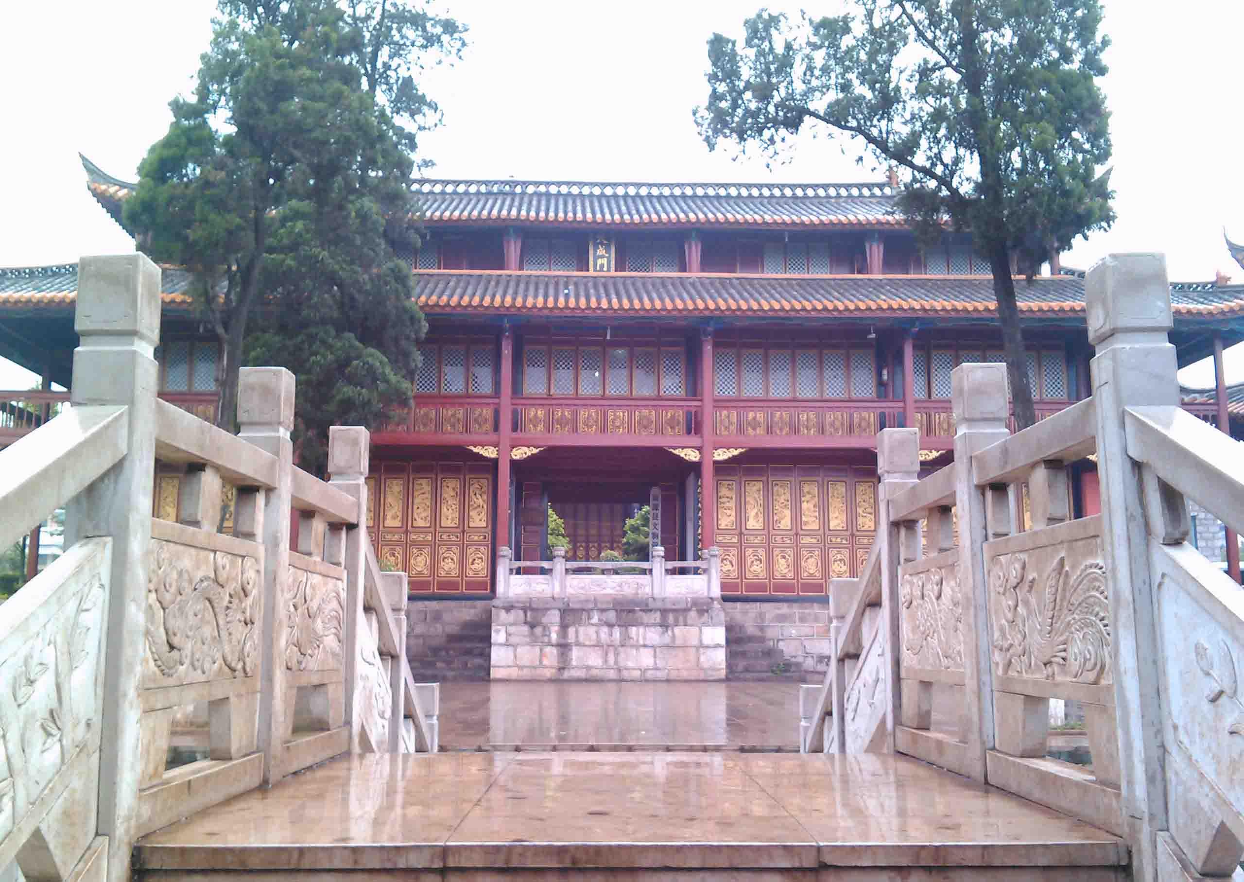 云南省曲靖市狗街_富源文庙 - 孔庙